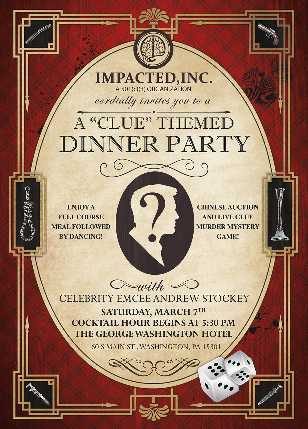 2020 Impacted, Inc. Gala Invite